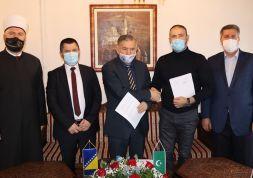 Potpisan ugovor za nastavak radova na Islamskom centru u Zenici
