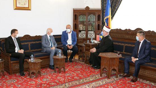 Reisu-l-ulema se susreo sa direktorom Generalne direkcije vakufa Republike Turske