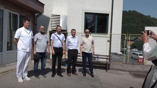 Opća bolnica Gračanica- još jedan novi aparat za dijalizu