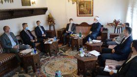 Muftija Dizdarević održao sastanak sa direktorom Vakufske direkcije hfz. dr. Senaidom Zajimovićem i