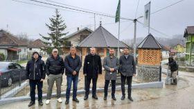 Posjeta predstavnika Vakufske direkcije Sarajevo Medžlisu IZ Čelić