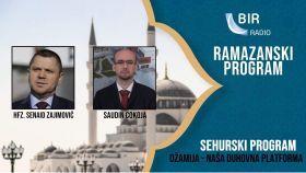 Sehurski program Radija BIR: Džamija - naša duhovna platforma