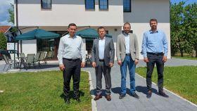 Delegacija Vakufske direkcije u posjeti Medžlisu IZ-e Kiseljak