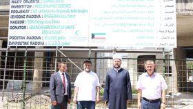 Generalni direktor Fondacije En-Nedžat iz Kuvajta posjetio Islamski centar u Zenici