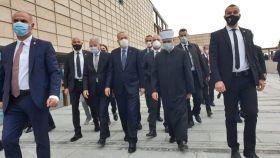 Predsjednik Erdogan i reisul-l-ulema Kavazović obišli Upravnu zgradu Rijaseta na Kovačima