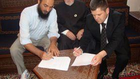 Protokol o izgradnji džamije u Bačića polju