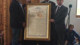 Direktor Vakufske direkcije uručio vakufnamu Asimu Hamidoviću