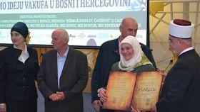Hadži Fatima Dedić proglašena za najistaknutijeg vakifa za 2015. godinu