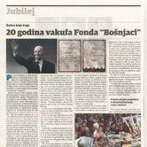 """20 godina vakufa Fonda """"Bošnjaci"""""""