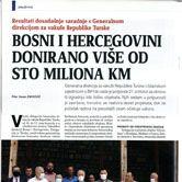 Bosni i Hercegovini Donirano više od sto miliona KM