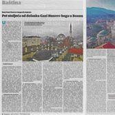 Pet stoljeća od dolaska Gazi Husrev-bega u Bosnu