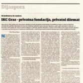 IKC Graz - privatna fondacija, privatni džemat