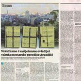 Vakufname i vasijetname evladijet vakufa mostarske porodice Arpadžić