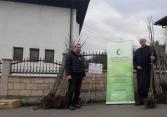 Vakufska direkcija podržala projekat sadnje oraha u džematu Divičani