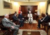 Rukovodioci Rijasetovih službi i ureda u posjeti Islamskoj zajednici Turske